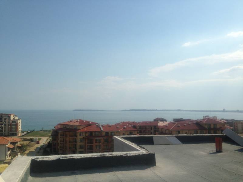 Вид на море с балкона каждой из комнат А1 5.6